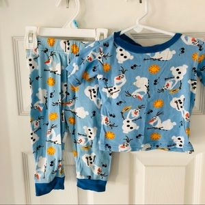 Frozen Olaf Disney pajama set